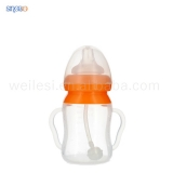 160ML Arc-shape Silicone Feeding Bottle