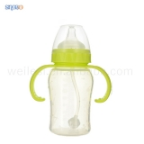 210ML Wide-neck Silicone Baby bottle