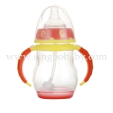 240ML bicolor Wide PP Bottle