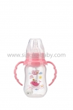 120ML Standard-neck PP arc-shaped feeding bottle