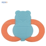 Cartoons-shape silicone teether