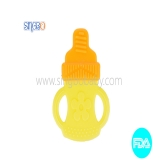 Milk Bottle Shape Silicone Teether